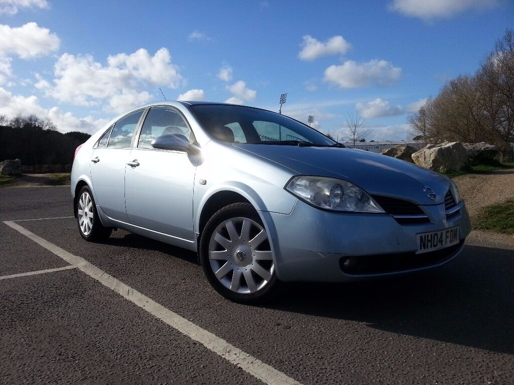 NISSAN PRIMERA 2.0L PETROL-NEW MOT-HIGH SPEC-WARRANTIED