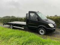 Mercedes sprinter recovery truck lwb
