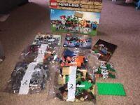 Minecraft Lego crafting box 8 in 1 NEW