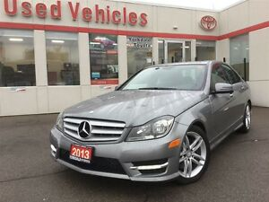 2013 Mercedes-Benz C-Class 4MATIC, LEATHER, ROOF, SENSORS
