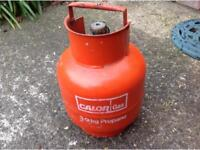 New unused full calor gas bottle (no surcharge)