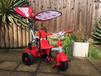Little Tykes 4 in 1 sports edition trike red