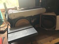 Axminster Belt and Disc Sander