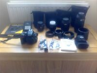Nikon D5500 with all you need