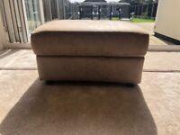 3 piece sofa suite (including foot stool)