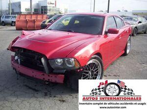 2012 Dodge Charger SRT8 V8 6.4L MAG SPOILER CAMERA DE RECUL KEYL