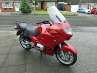 BMW R1150RT very low miles