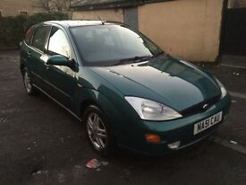 Ford Focus 1.8 petrol manual good runner