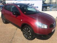 NISSAN QASHQAI 1.5 DCI 360 5d 110 BHP A GREAT EXAMPLE INSIDE AND OUT (red) 2013