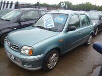Nissan Micra se 16v,5 door hatchback,clean tidy car,cheap insurance,great on petrol,