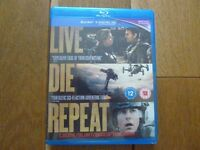 Live, Die Repeat blu ray – brand new