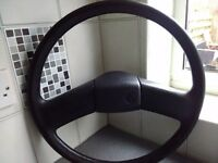 Original vw. T4 steering wheel