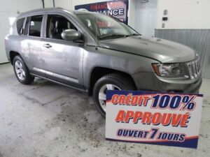 2014 Jeep Compass Sport/North CUIR SUEDE