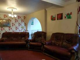 3 piece leather sofa set for sale
