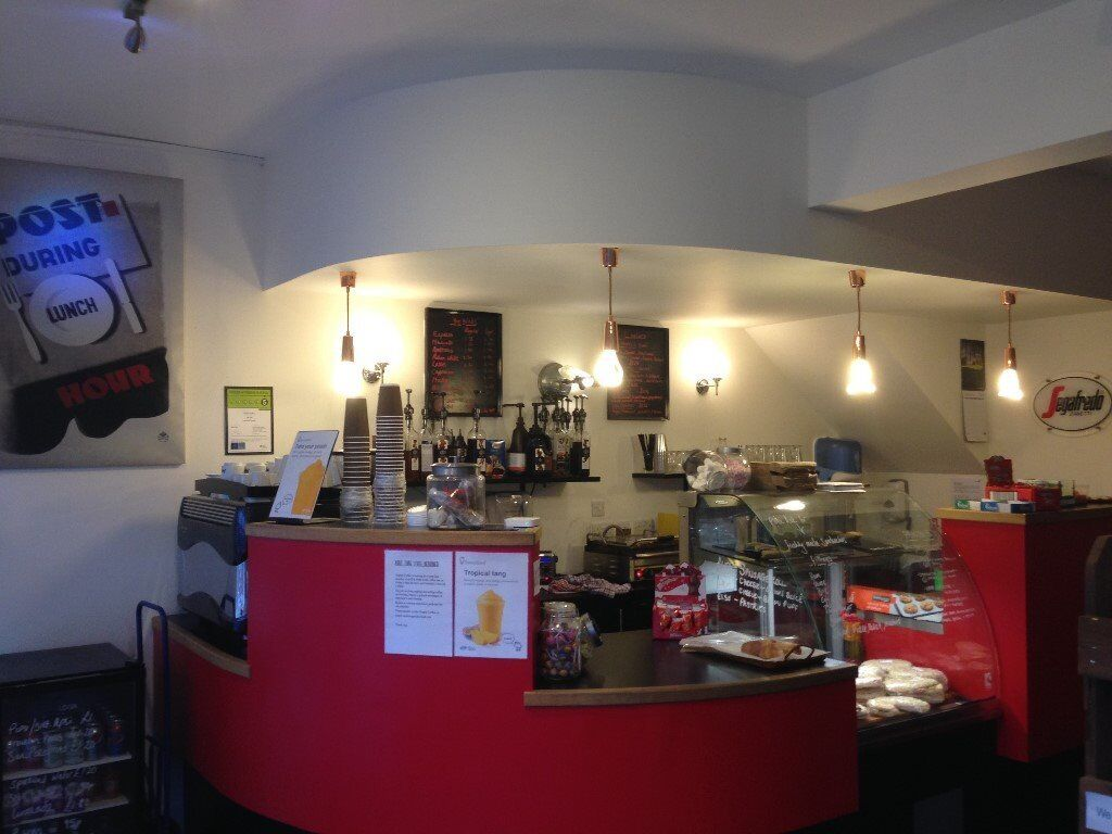 Coffee bar/Sandwich shop/Cafe business FOR SALE, LOW-START UP costs 3 year lease