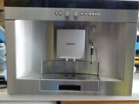 SIEMENS FULLY INTERGRATED COFFEE MACHINE
