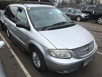 2004 Chrysler Grand Voyager Auto 7 Seats. Mot. Tax. LEATHER Warranty Guaranteed 1 Owner