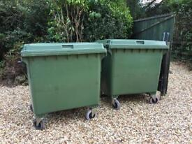 1100 lt commercial recycling waste storage bins wheelie and industrial
