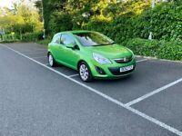 2012(62) Vauxhall Corsa 1.2 Active 3Dr 48k miles 12m MOT Service History Excellent condition!