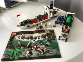 Vintage Lego Adventurers Set 5975 T-Rex Transport