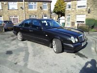 MERCEDES E CLASS 300 TURBODIESEL 1999 BLACK GOOD ORIGINAL CONDITION !!!