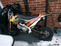 2017 140 CFR sized pit (swap for a quad or a 2st bike)Gilera, Typhoon, Zip