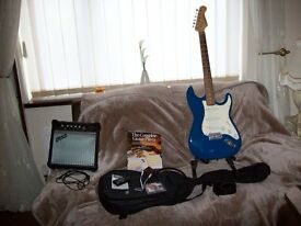 """"""" Beginners Electric Guitar Outfit """""""