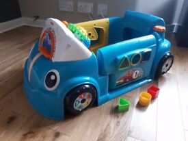 Fisher Price Baby Laugh & Learn Crawl Around Car Shape Sorter