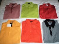 Top Quality John Smedley Men's Polo Shirts (2 brand new). Sorry but collection only from NG20 9BS