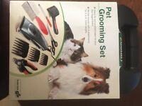Pet grooming set ,brand new never been out of box