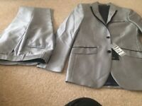 Metallic gents dinner suit very small fit.