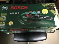 Bosch AKE 40 S corded chain saw
