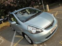 HONDA JAZZ AUTOMATIC 2006 MOT , SERVICED,DAD 87 GIVING UP DRIVING