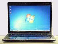 "AS NEW LAPTOP-HP PAVILION DV9000 17.1"" HD HDMI HP ENTERTAINMENT NOTEBOOK PC MS OFFICE"