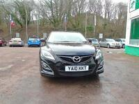 MAZDA 6 2.2d Sport +++FDSH++HALF LEATHER HEATED++KEYLESS+++ (black) 2010