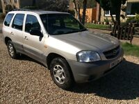 Mazda Tribute 4 X 4, great car used daily. Mot until 12 April 17. Good condition for the year.