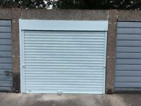 Secure garage to rent near Catford station with brand new security roller shutter door