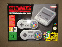 Brand New Super Nintendo Mini Classic