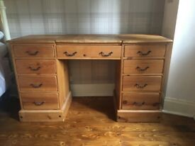 Solid Oak Desk - Perfect for upcycling