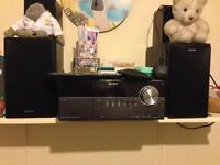 Sony music system, radio and iPhone plug