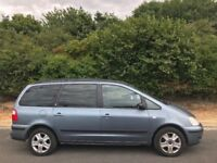 2002 FORD GALAXY GHIA 2.3L.BRILLIANT DRIVE.SERVICE HISTORY.LONG MOT.PERFECT FOR LONG DRIVES.7 SEATER