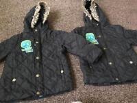 2 black coat for boys