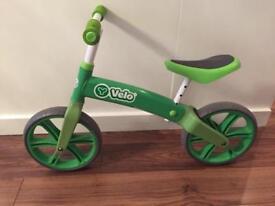 Velo Balance Bike - Green