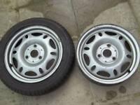 smart car wheels