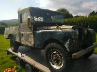 Land rover series one 1958 lwb barn find