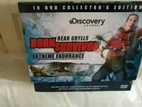 Bear Grylls DVD box set