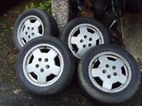 "ford Granada cosworth 16"" alloys"