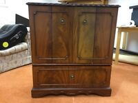 Large traditional TV / DVD player cabinet