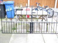 double decorative driveway gates