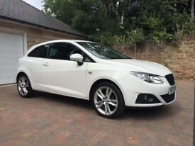 Seat Ibiza sport (104ps) excellect drive air con first to see will buy so dont delay call today.